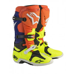 Bottes Alpi Tech 10 Orange Fluo Blue Blanc Yellow Fluo 7 (40.5)