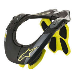 Neck Support Alpinestars BNS Tech-2 Noir Yellow fluo L/XL