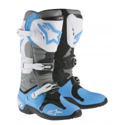Bottes Alpinestars Tech 10 Blanc Cyan 9 (43)