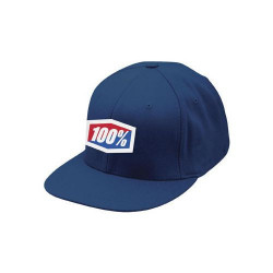 """Casquette 100% """"icon"""" 210 fitted hat navy L/XL"""