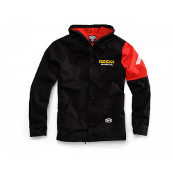 Jacket Hooded 100% Geico/Honda Flux Noir S