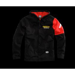 Jacket Hooded 100% Geico/Honda Flux Noir XXL