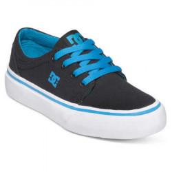 Chaussure enfant DC Trase Noir/turquoise 1(32)-ADBS300083-BTU