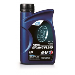 Liquide de frein ELF Moto Brake Fluid DOT4 500ml