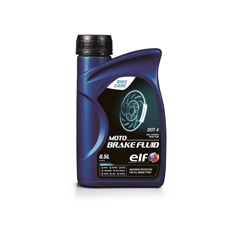 Liquide de frein ELF Moto Brake Fluid DOT4 500ml