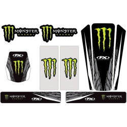 Kit stickers universel Monster 13 Factory Effex
