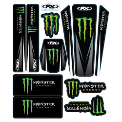 Kit stickers universel Monster 14 Factory Effex