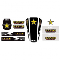 Kit stickers universel Rockstar 14 Factory Effex