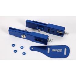 Rallonge de bras occillant alu Bud 50 KTM 16 (paire) Blue
