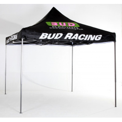 Tente quick-up Bud racing noire 3x3m V2