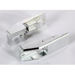 Rallonge bras occillant alu 65/ 85 YZ + Tendeur chaine (paire) +30mm
