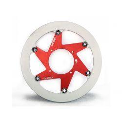 Disque de frein BERINGER Aeronal® piste inox flottant gauche rouge