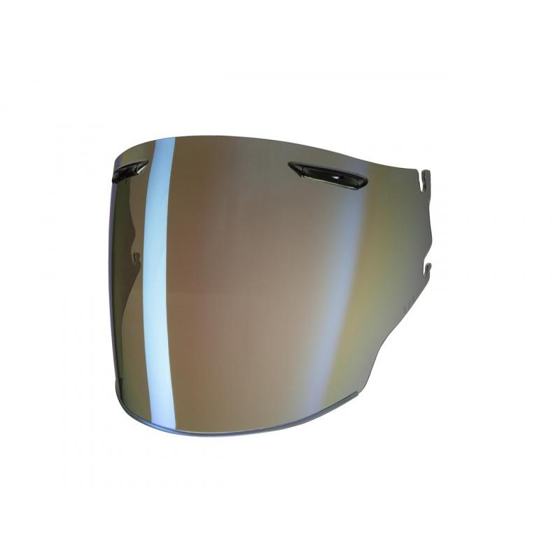 Ecran ARAI Super Adsis MZ irridium bleu pour casque Jet