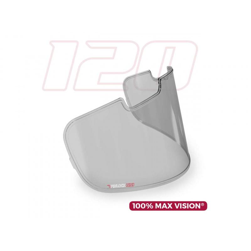 Ecran PINLOCK 100% Max Vision fumé léger pour écrans ARAI type SAI