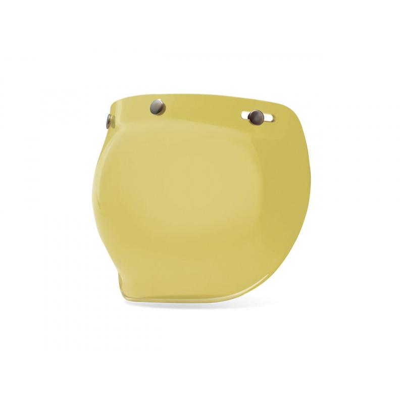 Ecran bubble BELL Custom 500 jaune Hi-Def