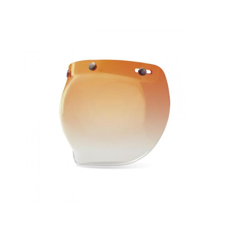 Ecran bubble BELL Custom 500 ambré gradient