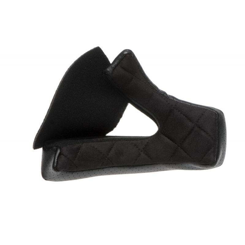 Coussinet de joue Moto 3 BELL 35mm noir Suede