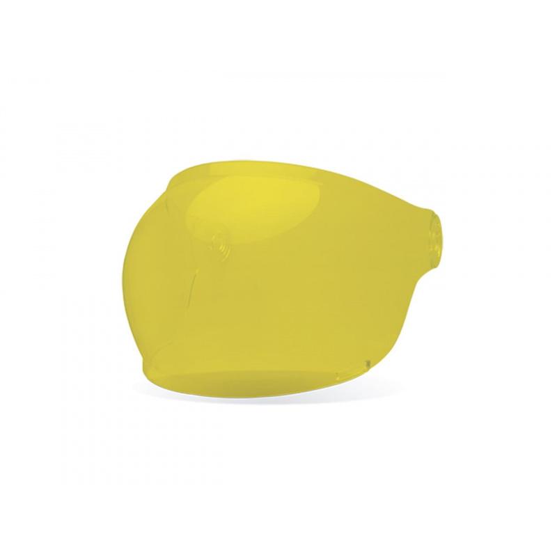 Ecran bubble BELL Bullit Black Tab jaune