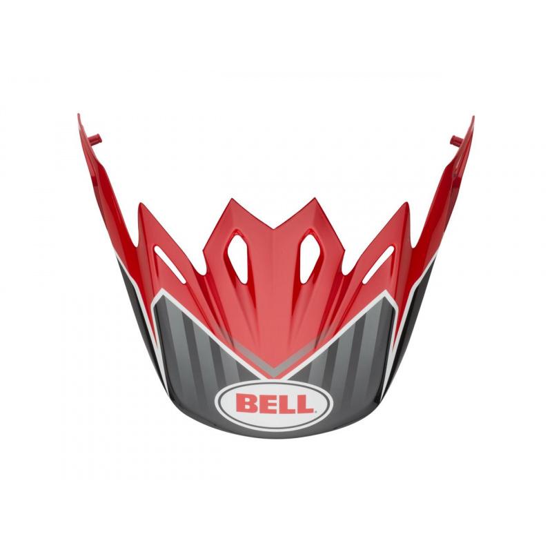 Visière BELL Moto 9 Flex / Moto 9 Pinned rouge