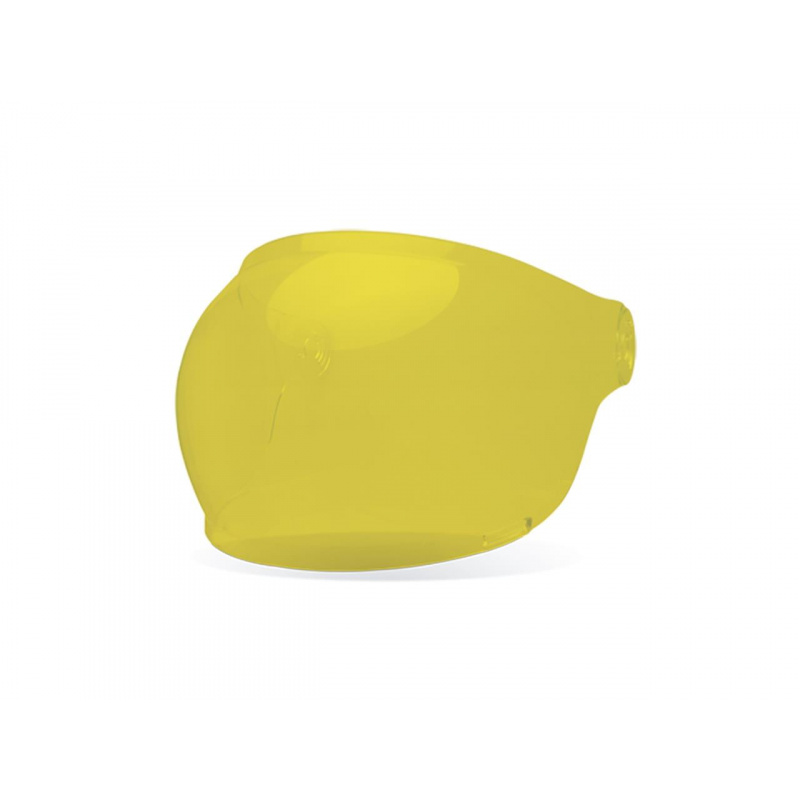 Ecran bubble BELL Bullit Brown Tab jaune