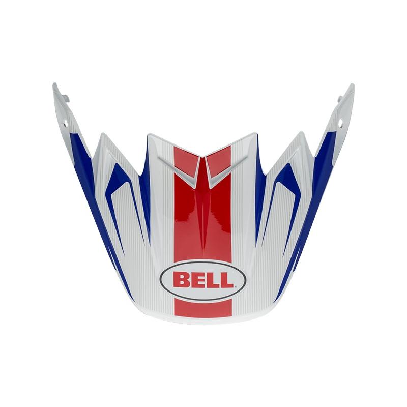 Visière Flex BELL Moto 9 Flex / Moto 9 Vice bleu/rouge