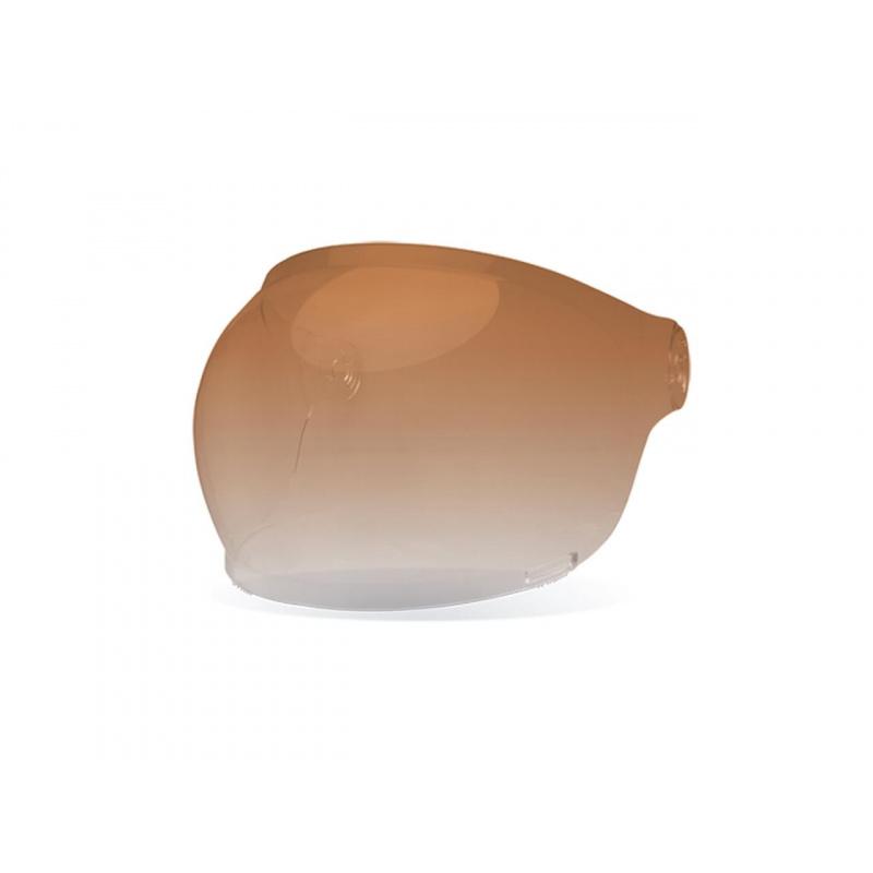 Ecran bubble BELL Bullit Black Tab ambré