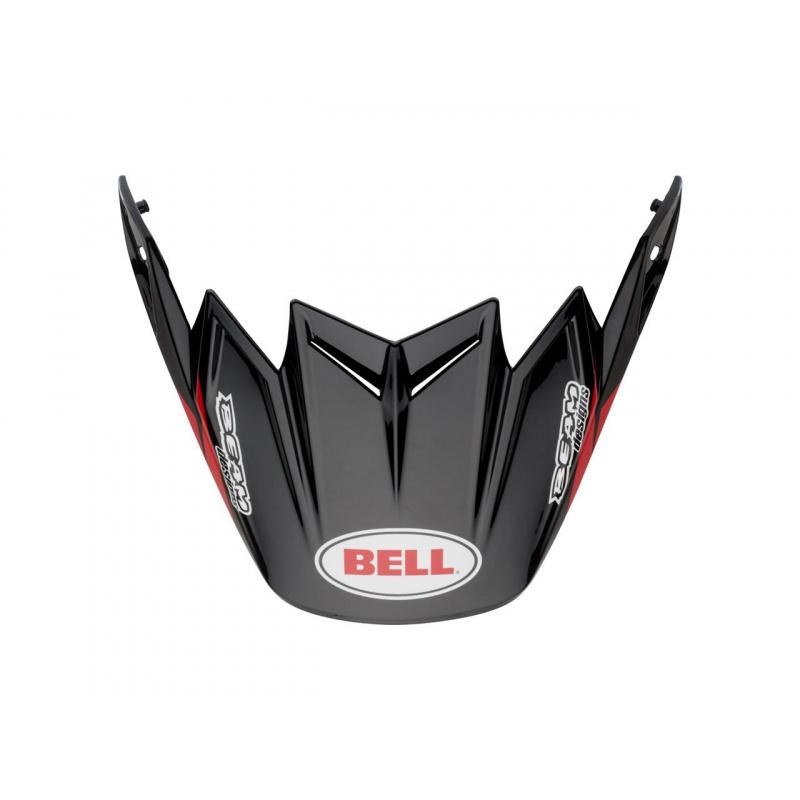 Visière Flex BELL Moto 9 Flex / Moto 9 Syndrome rouge