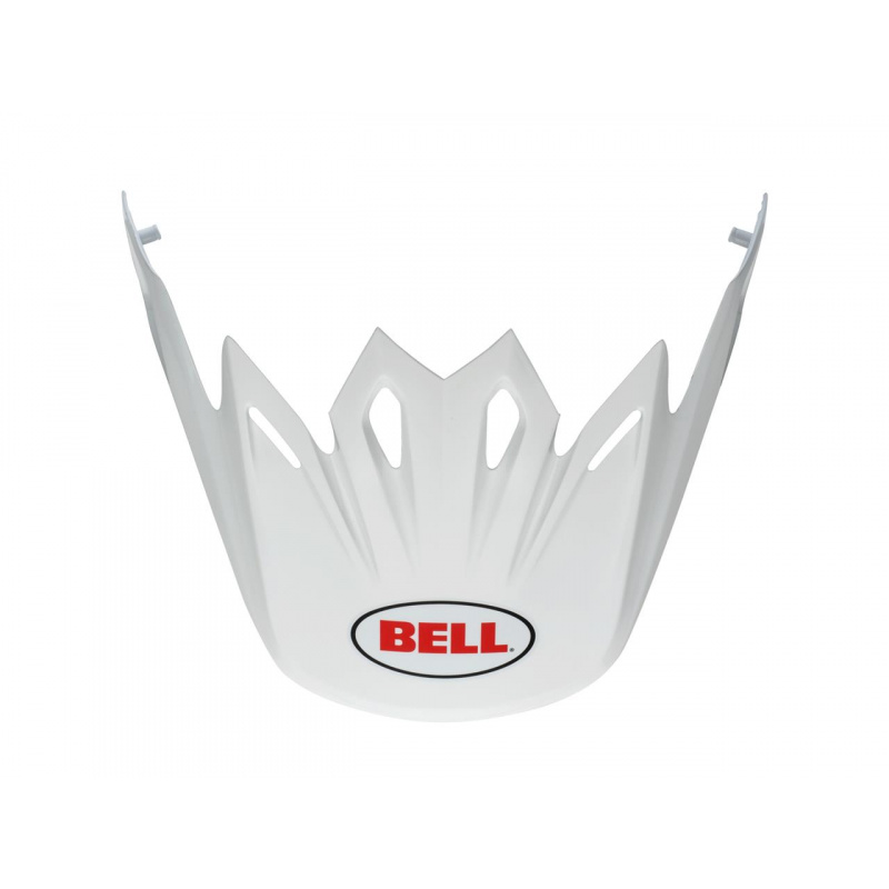 Visière BELL Moto 9 Flex / Moto 9 blanc