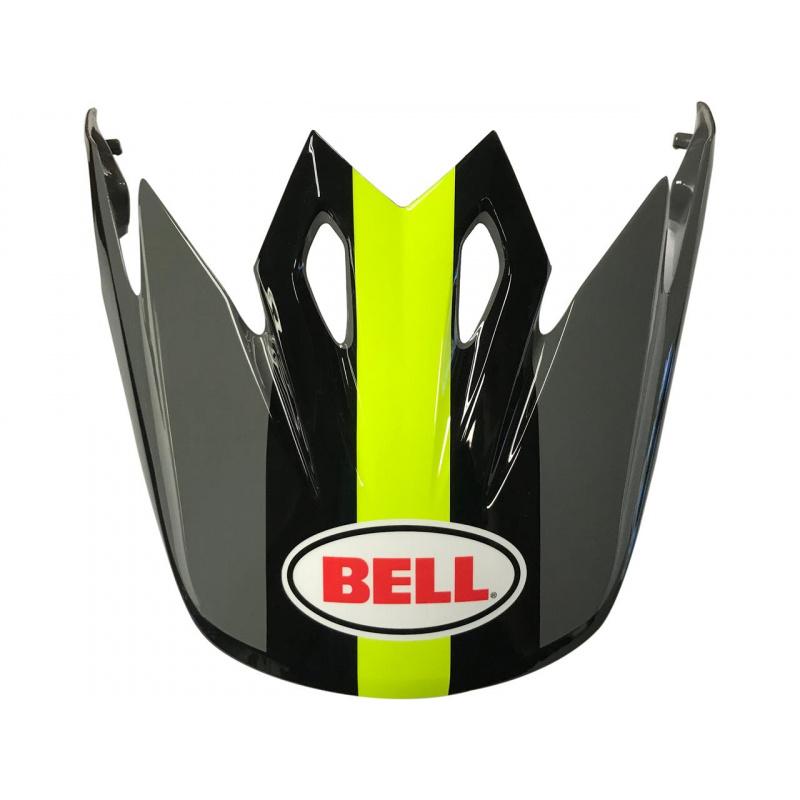 Visière BELL MX-9 Marauder jaune/noir