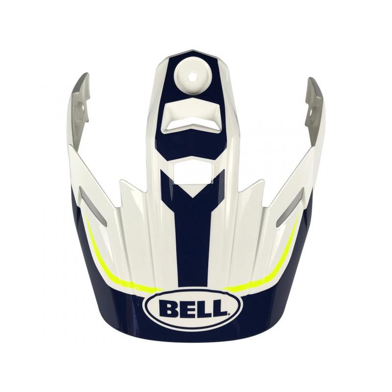 Visière BELL MX-9 Adventure Torch blanc/bleu/jaune