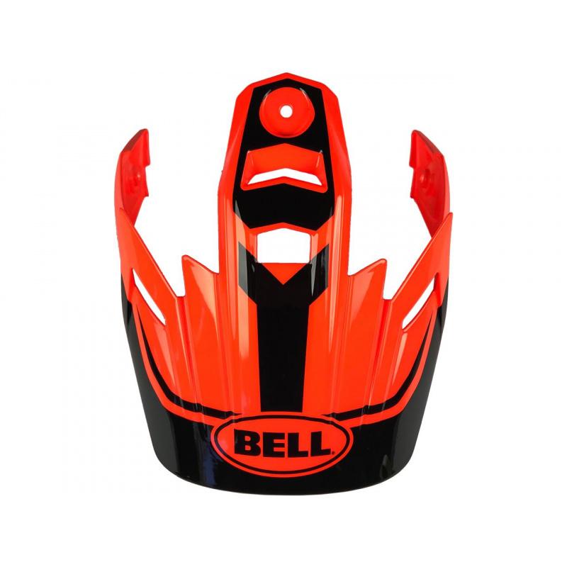 Visière BELL MX-9 Adventure Torch orange/noir