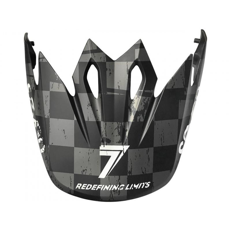 Visière BELL MX-9 Checkmate noir