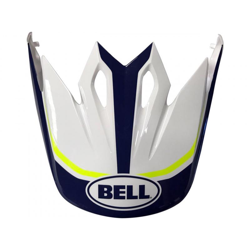 Visière BELL MX-9 Torch blanc/bleu/jaune