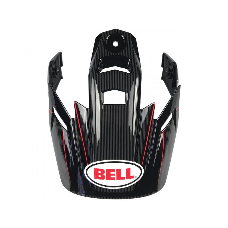 Visière BELL MX-9 Adventure Berm noir/rouge/blanc