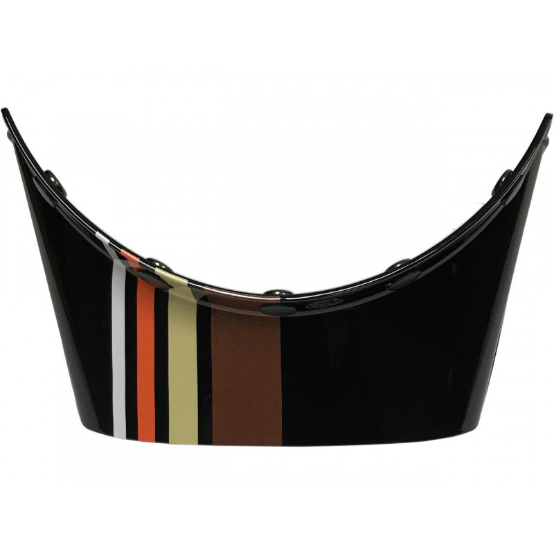 Visière BELL Moto-3 Stripes Noir/Orange
