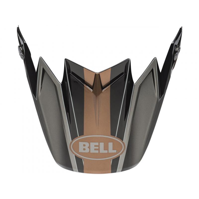 Visière BELL Moto-9 Flex Hound noir/bronze