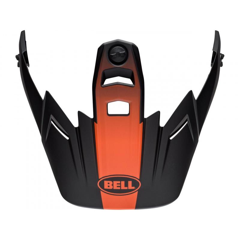 Visière BELL MX-9 Adventure Switchback noir/orange