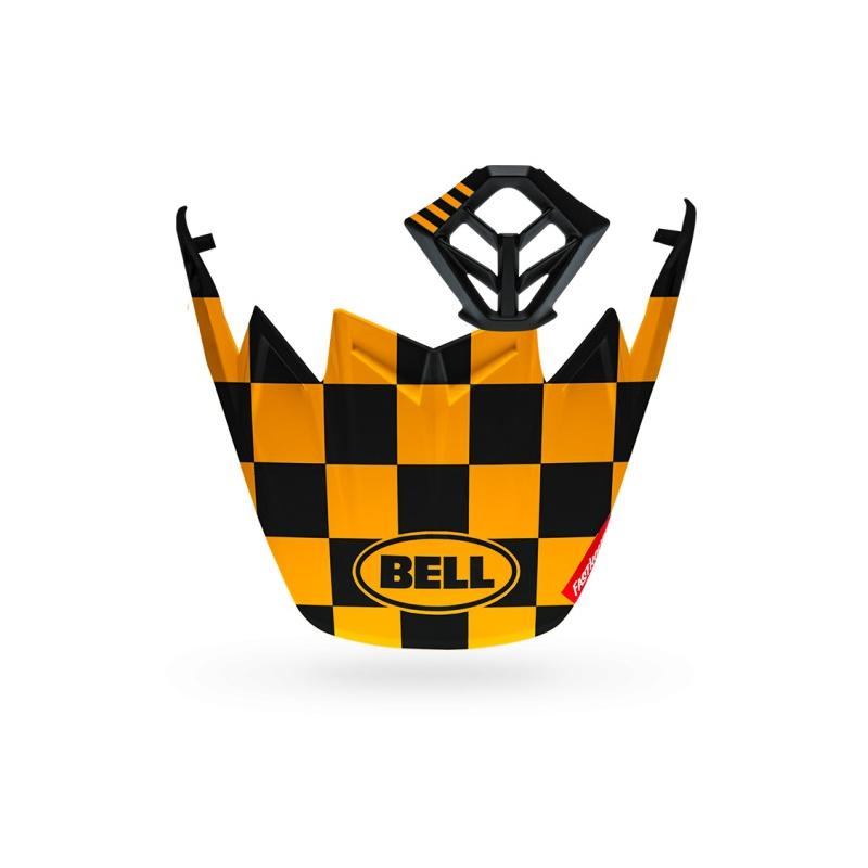 Kit MX BELL Moto-9 Flex Fasthouse Checkers noir mat/jaune