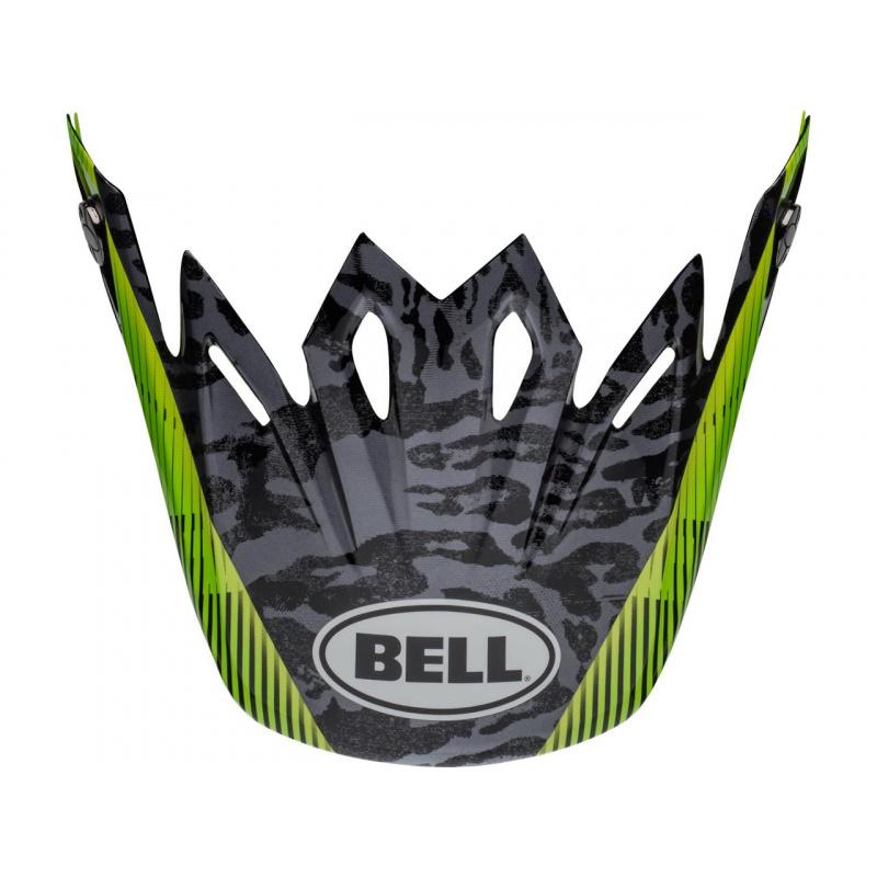 Visière BELL Moto-9 Chief noir/blanc/vert