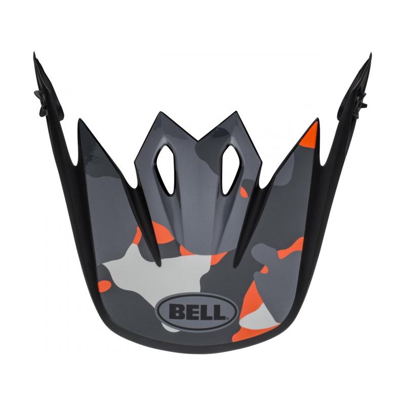 Visière BELL MX-9 Presence noir/blanc