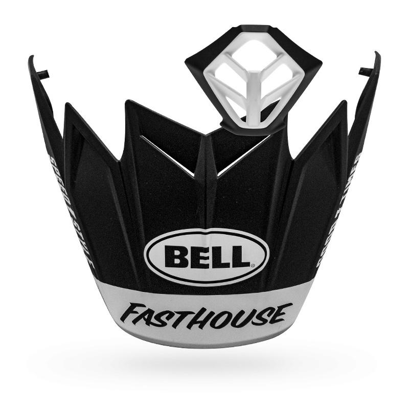 Kit MX BELL Moto-9 Flex Fasthouse noir mat/blanc