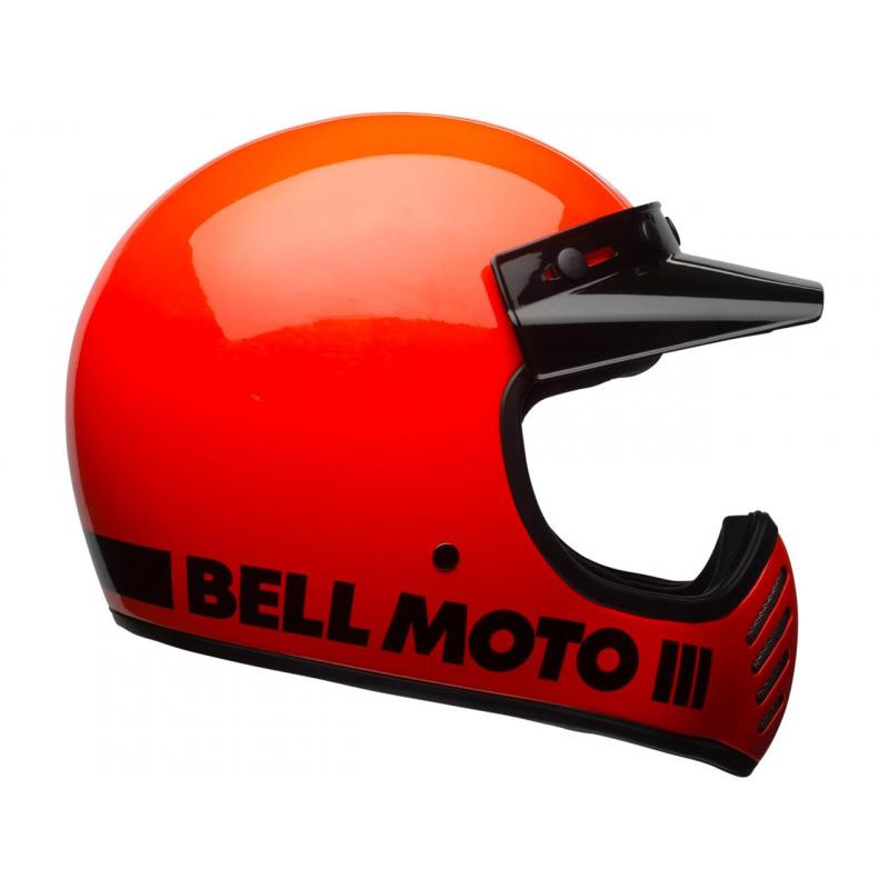 Casque BELL Moto-3 Classic Neon Orange taille M