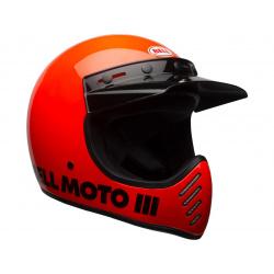 Casque BELL Moto-3 Classic Neon Orange taille XXL