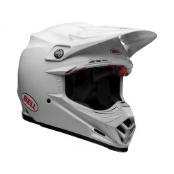 Casque BELL Moto-9 Flex Solid White taille L