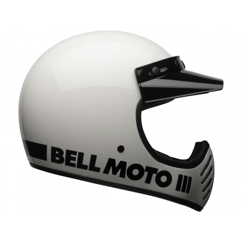 Casque BELL Moto-3 Classic White taille M