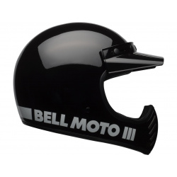 Casque BELL Moto-3 Classic Black taille M