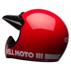 Casque BELL Moto-3 Classic Red taille XXL