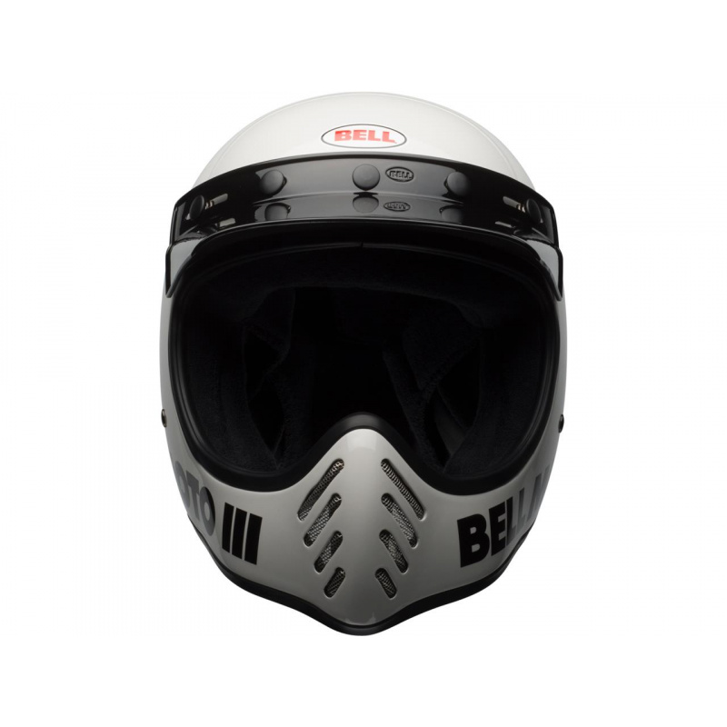 Casque BELL Moto-3 Classic White taille L