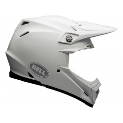 Casque BELL Moto-9 Flex Solid White taille XXL