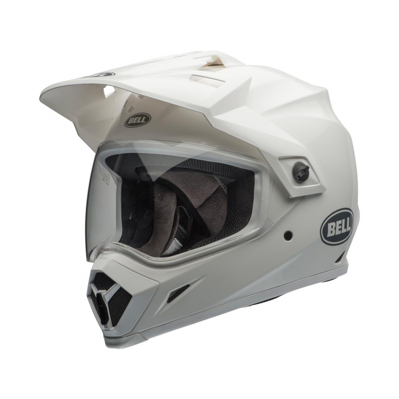 Casque BELL MX-9 Adventure MIPS Gloss White taille M